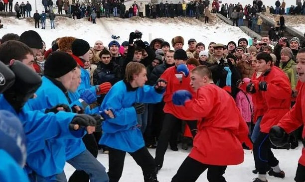 Boxe, pugilat, affrontements, Mardi-gras