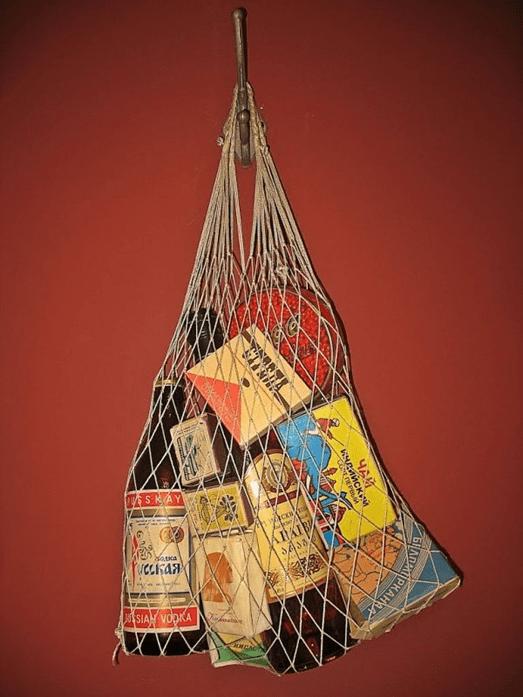 Ovoska, Au cas Ou, Okazou, sac tresse, sac a provisions, provisions