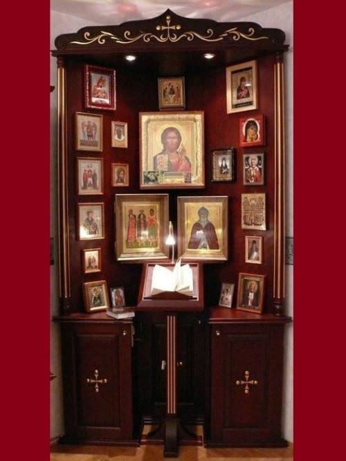 Autel Domestique, Eau Benie, Bible, livre de priere