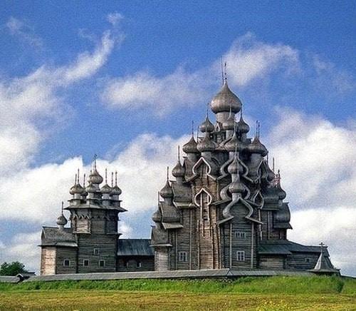 Russie, tourisme, croisière, Église de la Transfiguration, intercession, architecture bois, architecture finno-russe