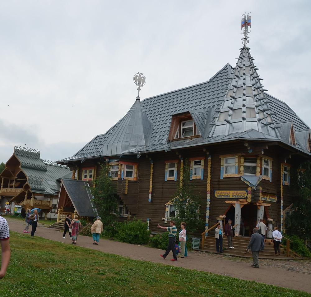 Russie, tourisme, croisière, mandrogy, village russe