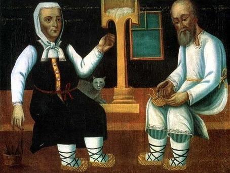 Les Lapti, entre Sandales et Espadrilles