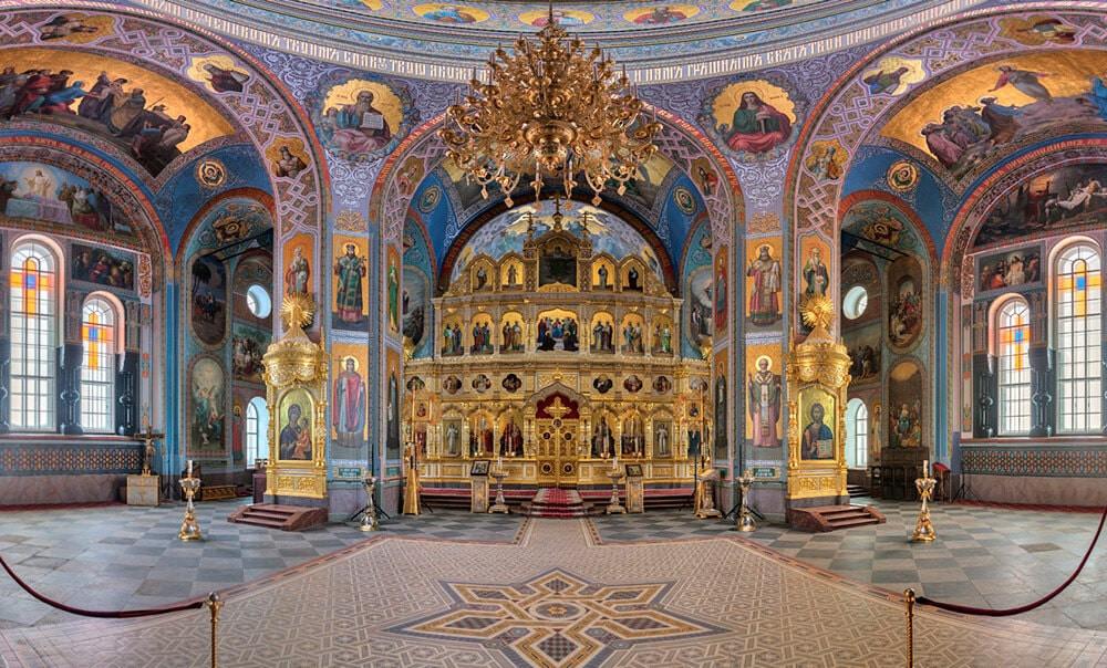Russie, tourisme, croisière, iconostase, icônes