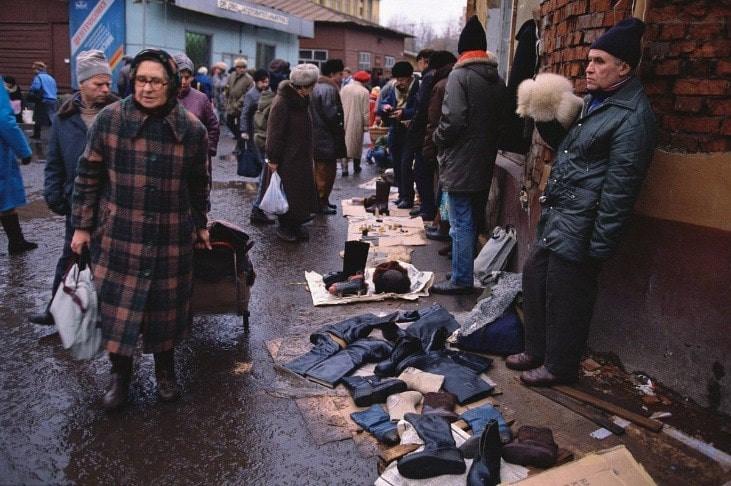 Russie, vente de rue, kiosques, tourisme , tradition