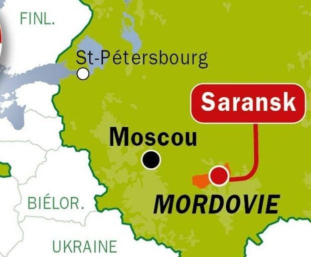 mordovie, republique de russie, saransk, camp de travail, camp de prisonniers, prison