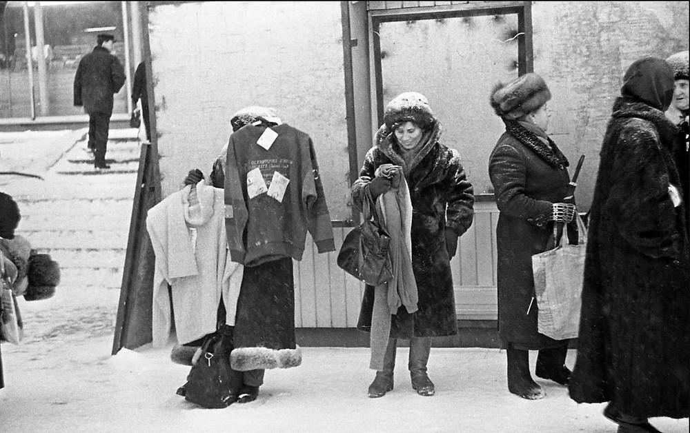 union soviétique, URSS, marché noir, contrebande, troc, échange, Barter