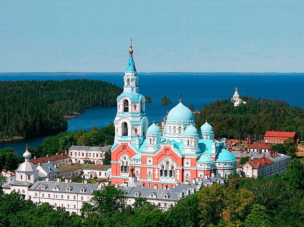 Russie, tourisme, croisière, valaam, monastère, cathédrale, transfiguration