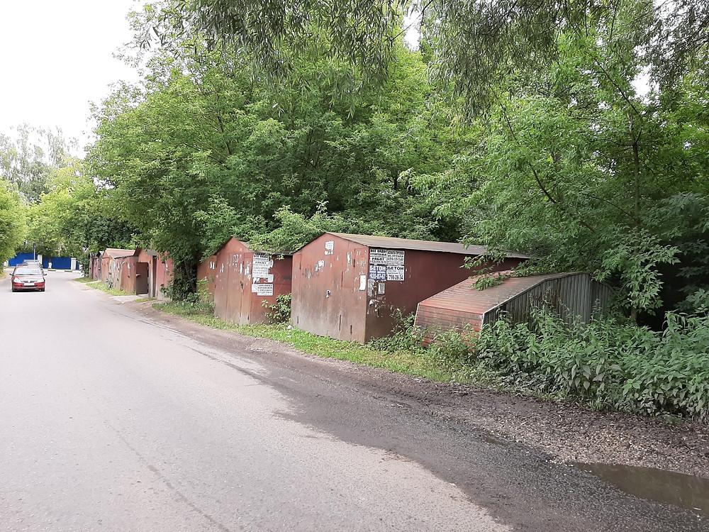 Garages en union soviétique, garages en Russie, URSS