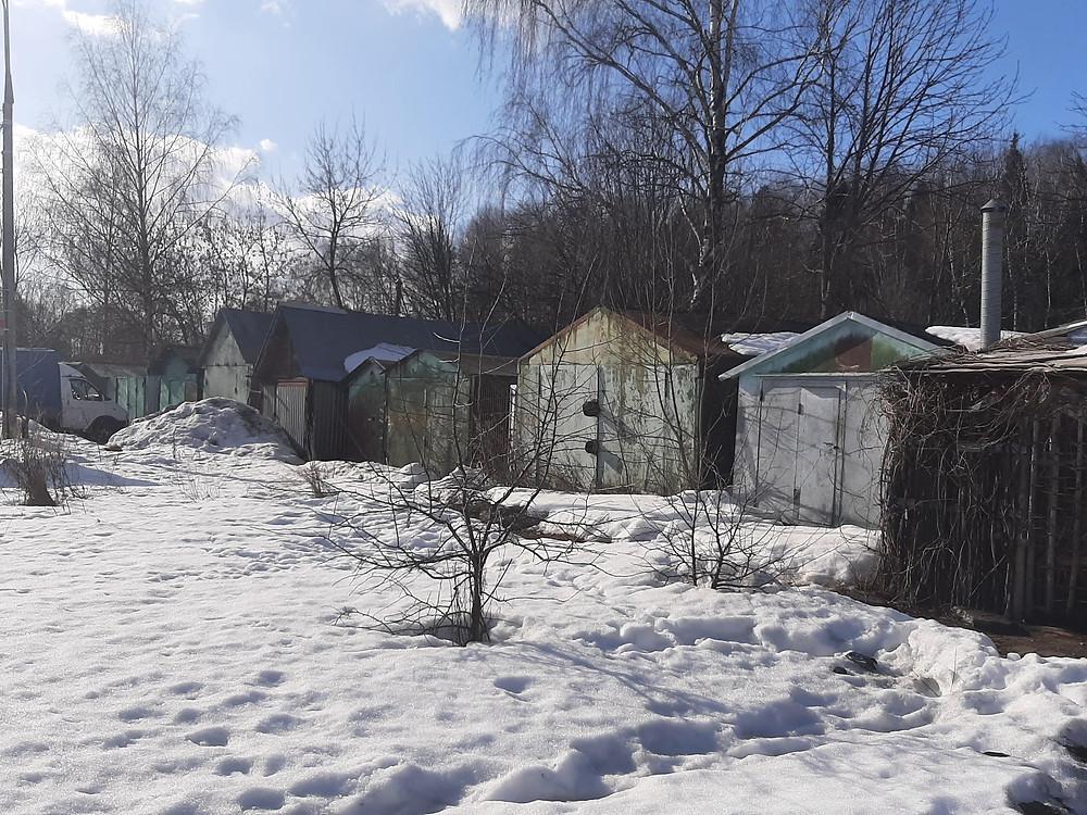 Garages en Russie, Union Soviétique, URSS, Russie,