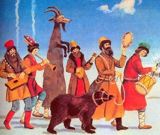 Montreurs d'ours, musiciens, postiches, nomades, adresse, souplesse, tour d'adresse