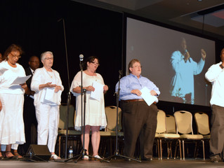 ConneXion Choir Sings at the South Georgia Annual Conference