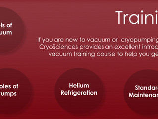 Four Hour Vacuum Training with Focus on Cryopumping Systems