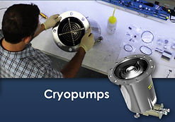 Rebuilt Cryopumps - Used Cryopumps - Refurbished Cryopump