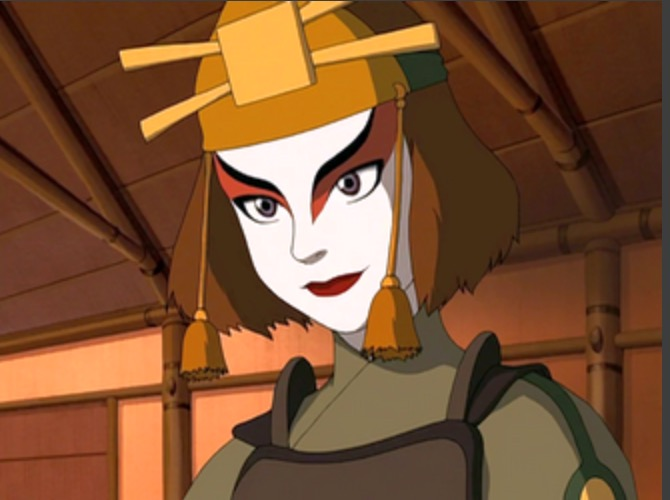 Suki from Avatar_  The Last Air Bender