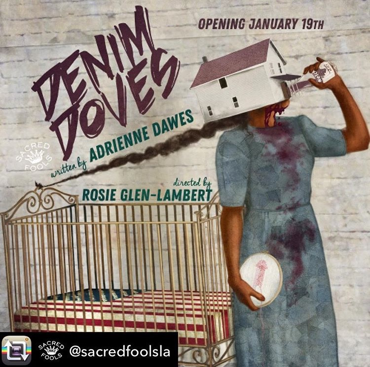 Congratulation to the cast of Denim Doves, starring vocal coach Jennie Kwan, for finishing an extended run at Sacred Fools at Broadwater Theater.