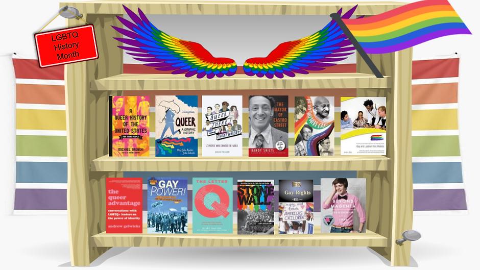 LGBTQ History Month Book Display.png