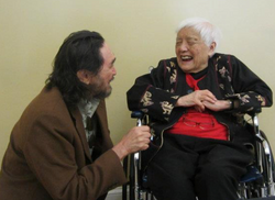 With Grace Lee Boggs