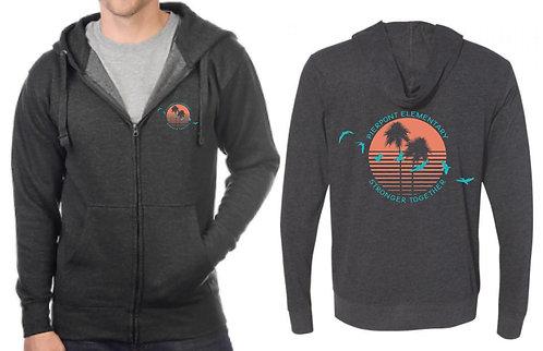 Pierpont zippered hoodie (ADULT)