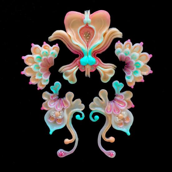 Face Flowers for Björk