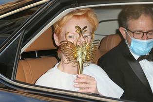Custom Mask for Tilda Swinton