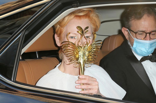 Custom Mask for Tilda Swinton