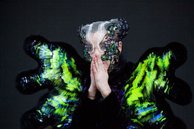 "Björk ""Moth"" Headpiece"