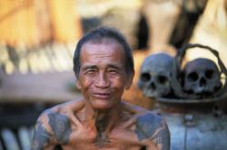 Dayak Tribesman
