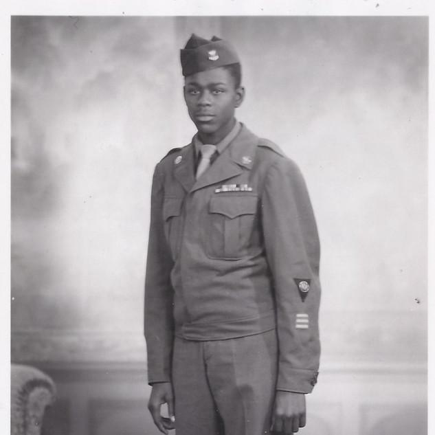 Soldat Afro Américain