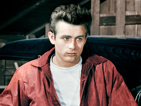 James dean et sa veste rouge