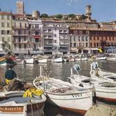 Port de Cannes , 1968