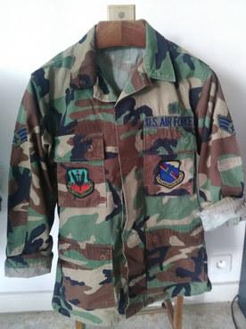 Veste Us Air Force Woodland