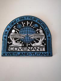 Ecusson vaisseau Alien Covenant