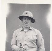 Soldat de l'USMC , 1942 authentique photo de la secondee guerre mondiale