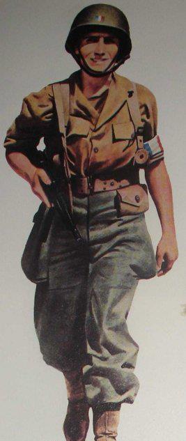 Soldat Français Provence 1944