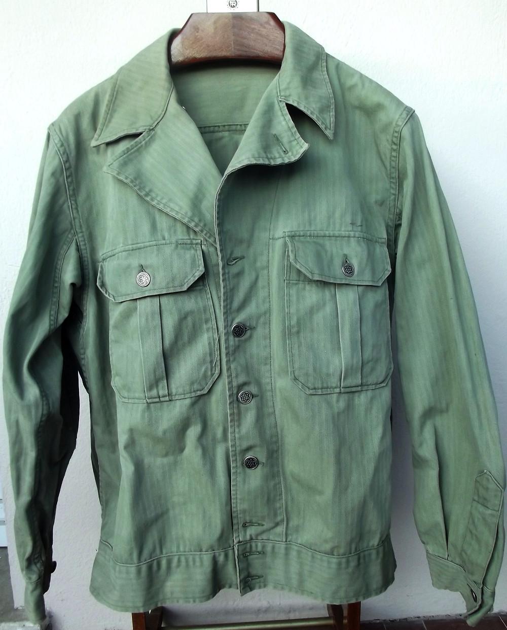 Une autre de veste HBT modèle 1941