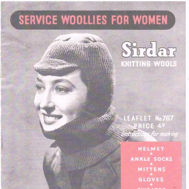 Brochure sur les effets en laine des femmes dans l'Armée Britannique en 39-45