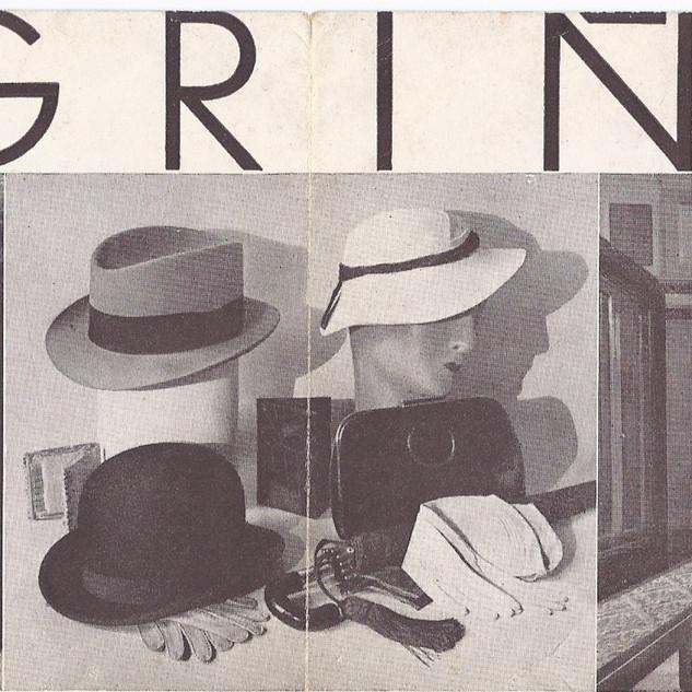 Brochure d'une chapelerie espagnole dans les années 30 .  C'est une amie espagnole qui me l'a envoyée par la poste , j'en suis très fier .