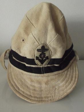 Casquette de la marine impériale japonaise .  English :   Japanese imperial navy forces cap .