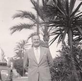 Nice , promenade des anglais , juin 1958