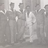 Photographie de matelots de la Marine Nationale , époque inconnue