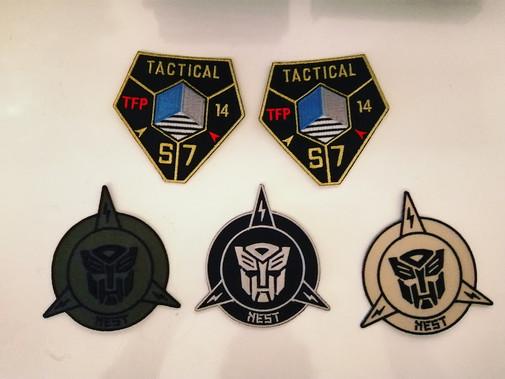 Répliques patchs Transformers
