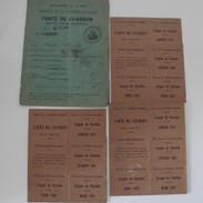carte et tickets rationnement 1921 .JPG
