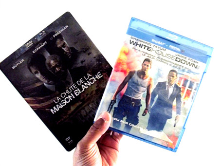 LE MATCH : La CHUTE DE LA MAISON BLANCHE VS WHITE HOUSE DOWN