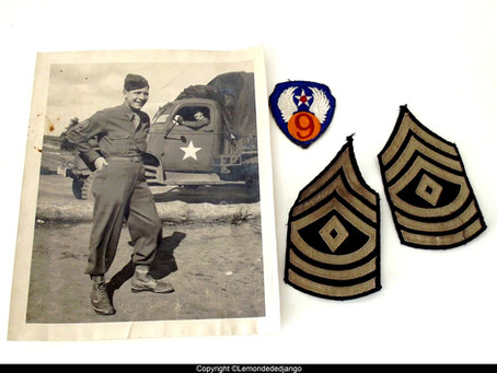 MILITARIA WW2 : GROUPING D'un soldat