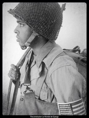 Soldat américain , Afrique du Nord 1942