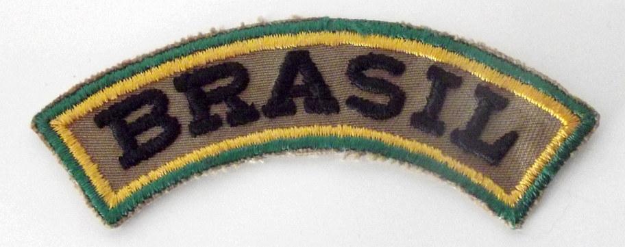 Ecusson de la force aérienne du corps expeditionnaire brésilien en italie durant la seconde guerre mondiale .  Voir ici :  Voir ici :  https://www.lemondededjango.com/blog/this-is-brazil