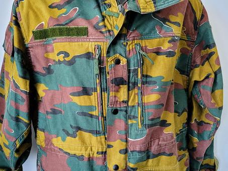 Camouflage armee belge
