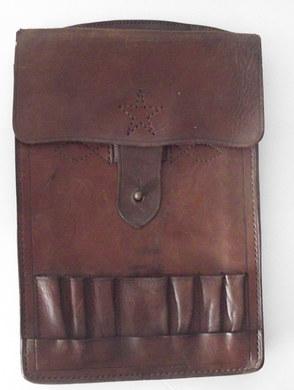 Porte cartes  officier armée impériale japonaise .   English :  Card holder from japanese officer during WWII .
