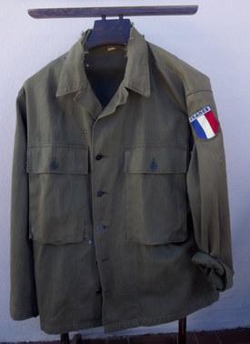 Veste  HBT Armée Française