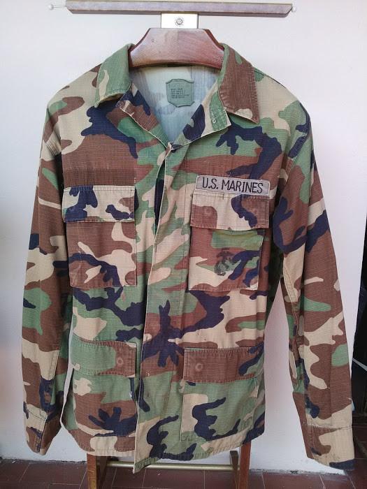 Veste Woodland de l'Us Marines Corps